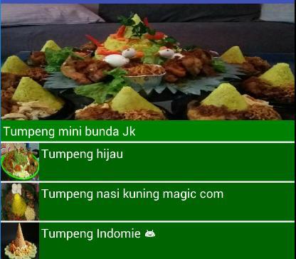 Resep Msakan Tumpeng Nusantara poster