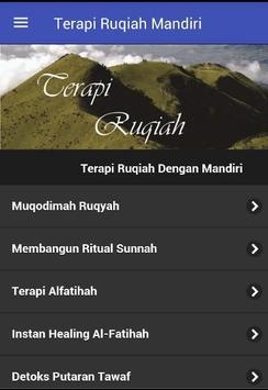Terapi Ruqiah Dengan Mandiri poster
