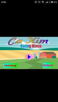 CaKim (Cacing Kimia) poster