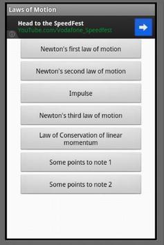 Useful Physics Formulas screenshot 1