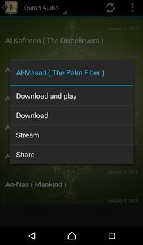 Quran Audio Muhammad Ayyub apk screenshot