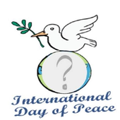 Peace day photo frames icon