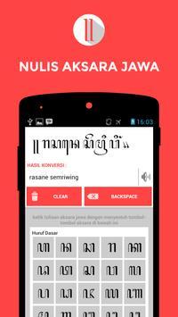 Nulis Aksara Jawa apk screenshot