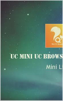 Mini : UC Browser Download Tip poster