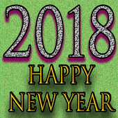 Happy new year 2018 wallpapers icon