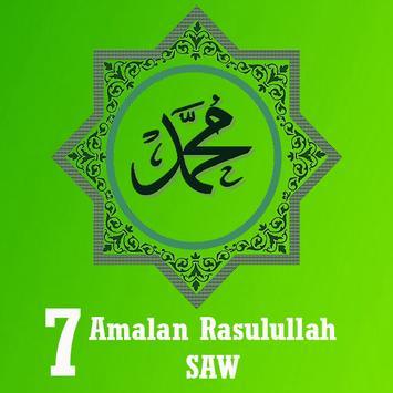 7 Amalan Rasulullah SAW poster
