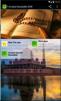 7 Amalan Rasulullah SAW screenshot 1