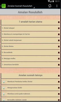 7 Amalan Rasulullah SAW apk screenshot