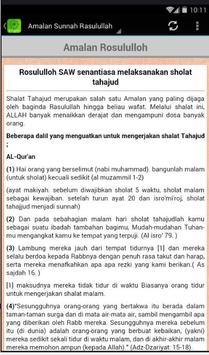 7 Amalan Rasulullah SAW screenshot 3