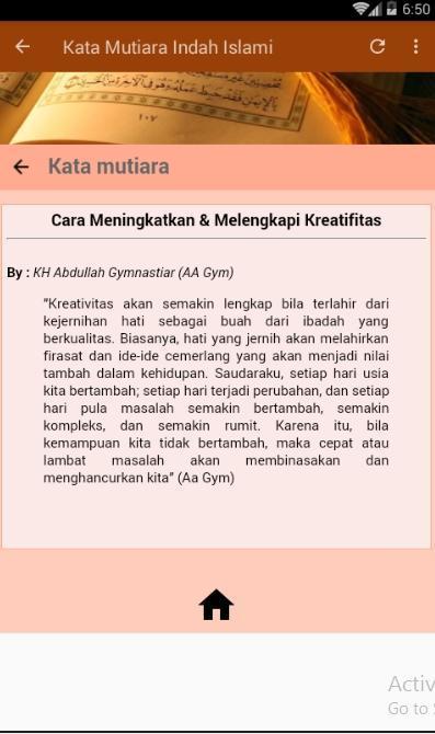Kata Mutiara Indah Islami Für Android Apk Herunterladen