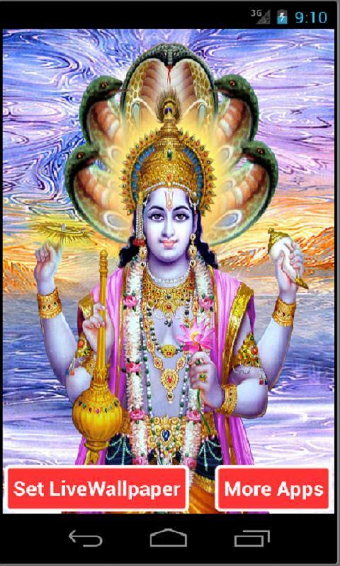Lord Vishnu Hd Live Wallpaper For Android Apk Download