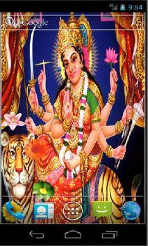 Goddess Durga HD Live Wallpapr poster