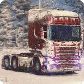 Truck Simulator Snow Transport icon