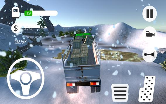 Truck Simulator Snow Transport apk screenshot