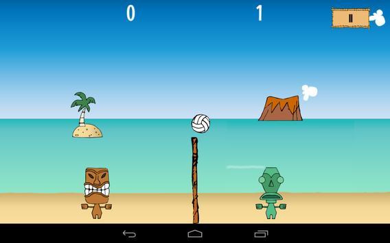 Tikiball - beach volleyball apk screenshot