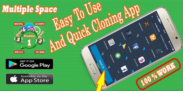 Multiple Account : Multi space - Parallel app screenshot 5