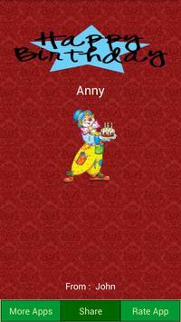 Birthday Card Maker apk screenshot