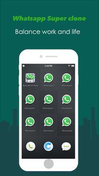 Multi WhatsApp poster