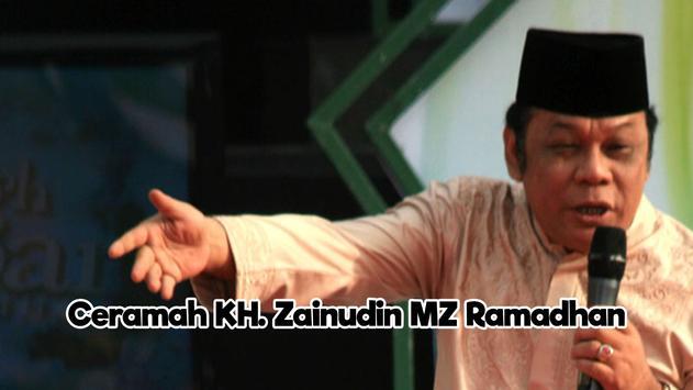 KH Zainudin MZ Ramadan 2017 poster