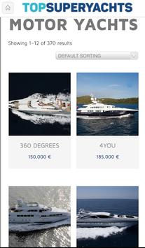 YACHT CHARTER SEARCH ENGINE screenshot 1