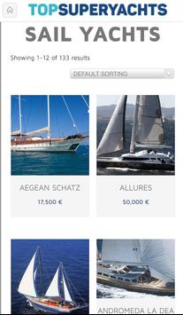 YACHT CHARTER SEARCH ENGINE screenshot 2