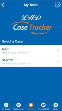 LHD Case Tracker apk screenshot