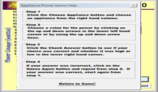 Physics - Appliance Power Game screenshot 2