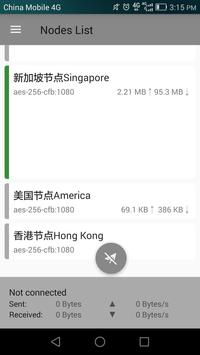 51VPN Free and Unlimited Hongkong Japan nodes apk zrzut ekranu