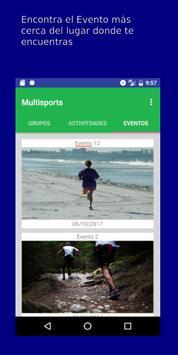 Multisports screenshot 2