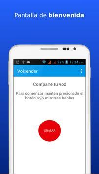 Voisender. Email de voz a Cuba poster