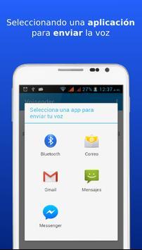 Voisender. Email de voz a Cuba apk screenshot