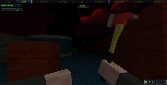 Blocky Party War Multiplayer apk screenshot