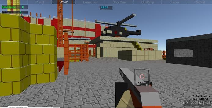 Pixel Fight Wars Multiplayer apk screenshot