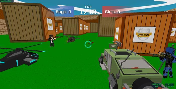 Pixel military vehicle battle screenshot 4