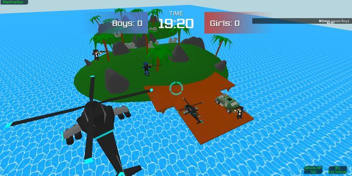 Pixel military vehicle battle screenshot 5