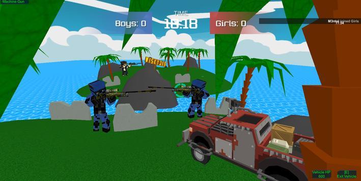 Pixel military vehicle battle screenshot 14