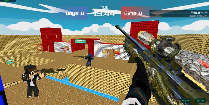 Pixel military vehicle battle screenshot 3