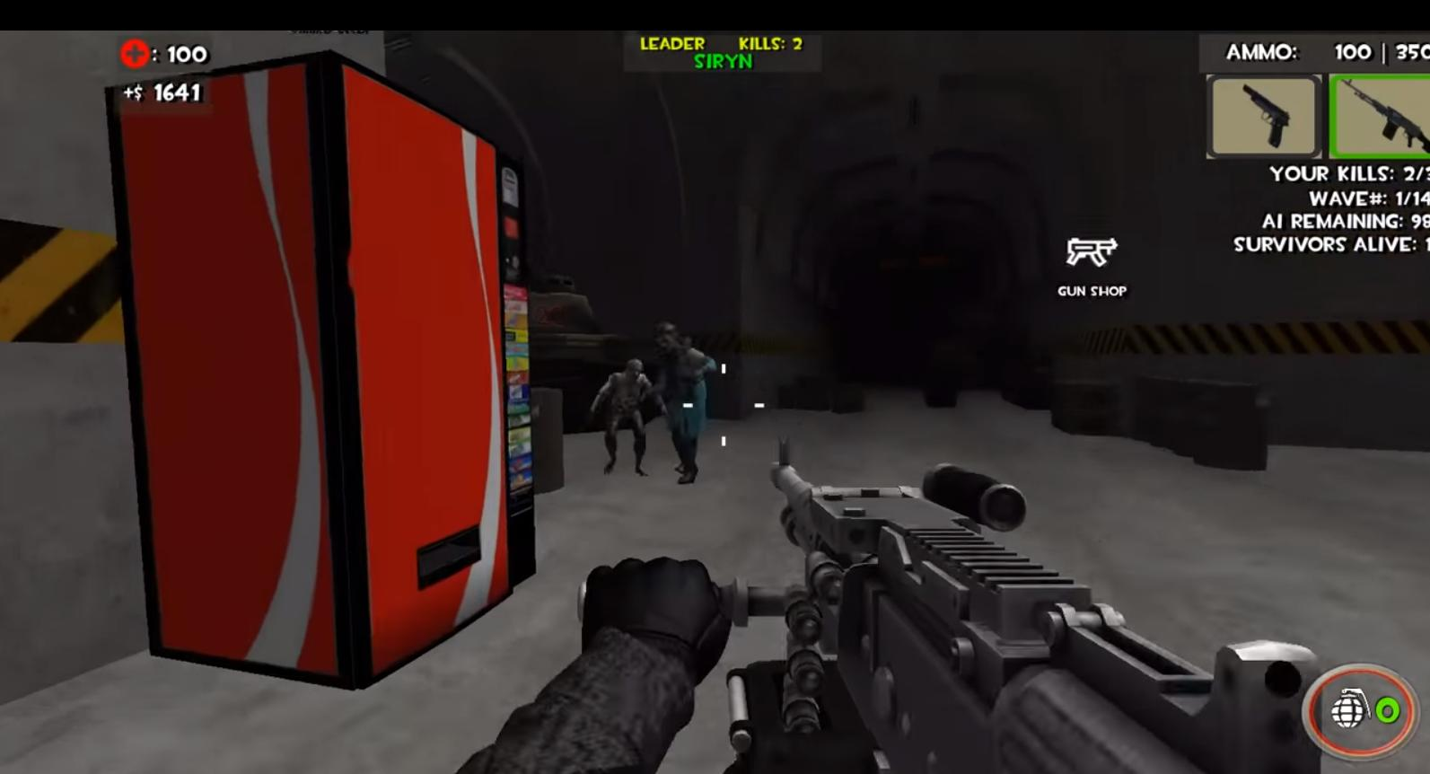 Zombie Fps Games In Roblox Realistic Zombie Survival Warfare For Android Apk Download