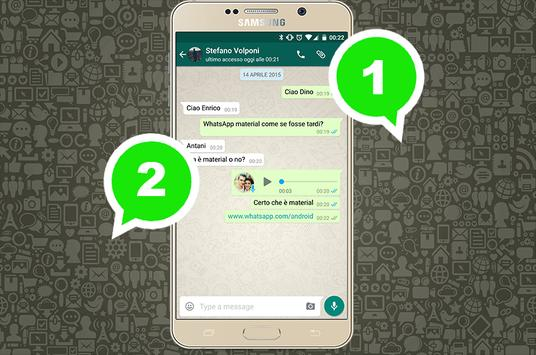 2 whatsapp account pro guide poster
