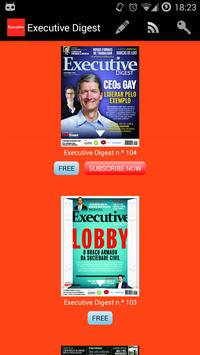 Executive Digest poster
