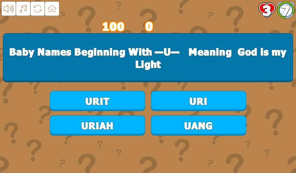 Quiz R to Z Baby Name for Android - APK Download