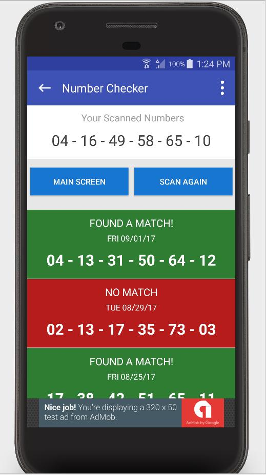 Lottery Ticket Scanner - North Carolina Checker for Android - APK