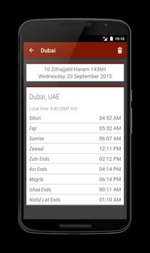 Salaat Times - Mumineen.org (Deprecated) apk screenshot
