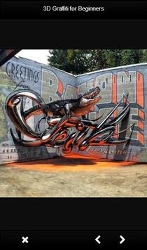 3D Graffiti for Beginners poster