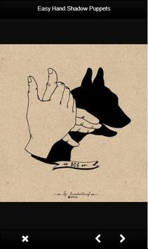 Easy Hand Shadow Puppets poster