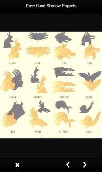 Easy Hand Shadow Puppets screenshot 2