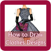 How to Draw Clothes Design icon