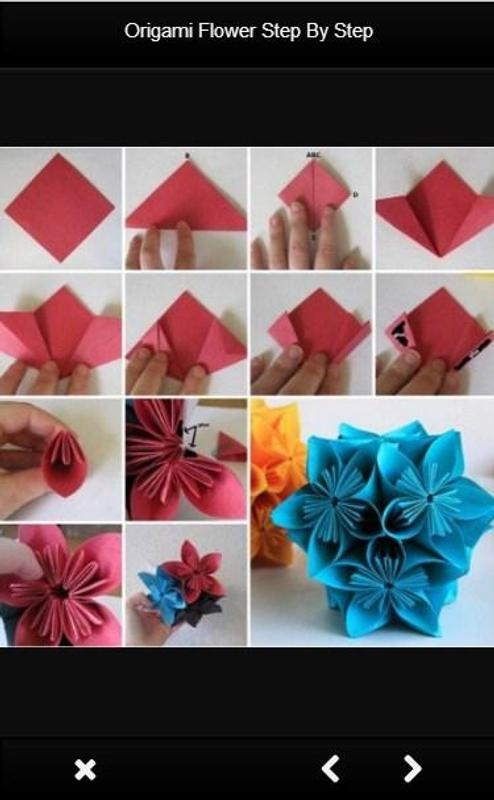 Origami Flower Step By Step for Android - APK Download - photo#41