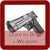 Learn to Draw Weapon icon