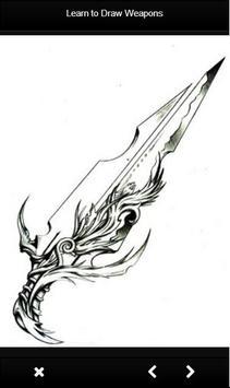 Learn to Draw Weapon screenshot 6